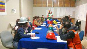 Realizamos junta con seguristas en Tepepan