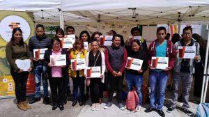 Beneficiarios de Chichicaspa y Huixquilucan reciben reconocimientos