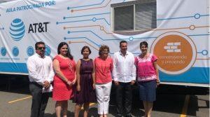 Inauguramos aulas en Mérida