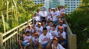 Nuestros beneficiarios viajaron a Acapulco recompensando su esfuerzo