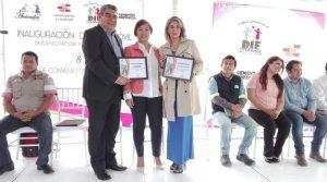 Nueva aula móvil en Atotonilco, Hidalgo